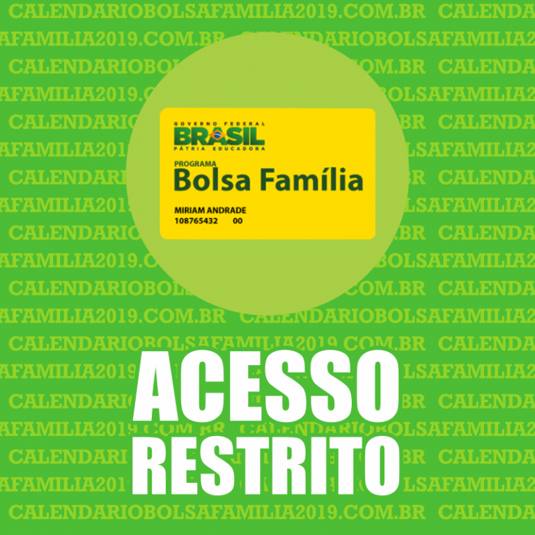 Bolsa Família Acesso Restrito 2022