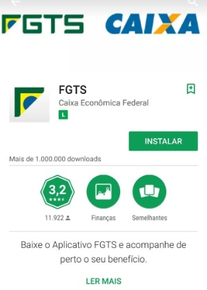 Download APP FGTS