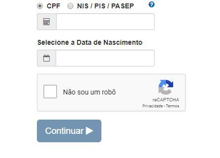Consultar FGTS pela Internet